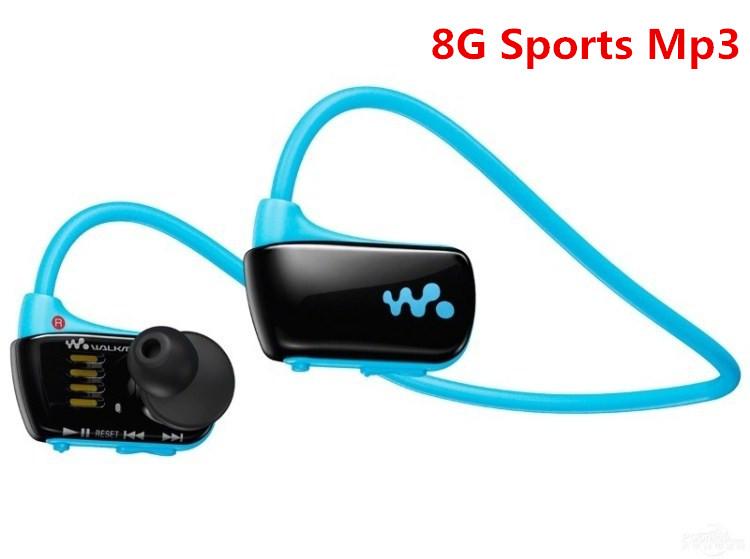 New W273 Sports Mp3 player for sony headset 8GB NWZ-W273 Walkman Running earphone Mp3 music player headphone Free shipping(China (Mainland))