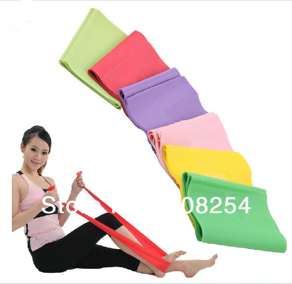 Fitness Resistance BAND Elastic Stretch Band Yoga Pilates