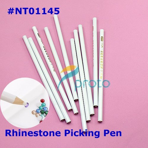 20pcs Nail Art Rhinestones Gems Picking Tools Pencil Picker Pen Dropshipping Retail SKU:F0099X