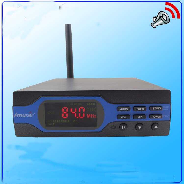 FU-X01A NEW 1W FM Transmitter 1 watt FM radio broadcaster for small FM radio stations personal radio station(China (Mainland))