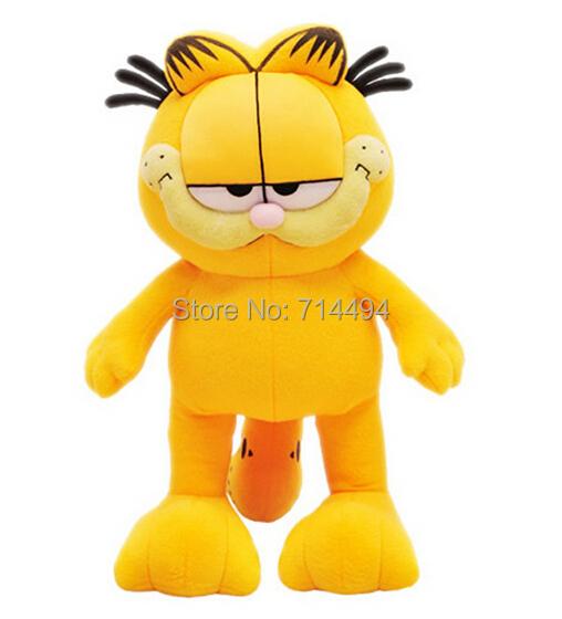 Hot Selling! 1pcs 8'' 20cm Plush Garfield Cat Plush Stuffed Toy High Quality Soft Plush Figure Doll Free Shipping(China (Mainland))