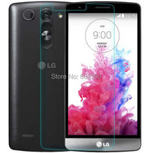 Amazing 9H 0.3mm 2.5D Nanometer Tempered Glass screen protector for Lg G3 S G3 Beat G3 mini D722 D725 D728