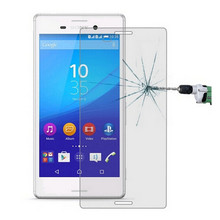Tempered Glass For Sony Xperia M4 Aqua E2303 Dual E2312 Screen Protector 9H Protective Film With Retail Package