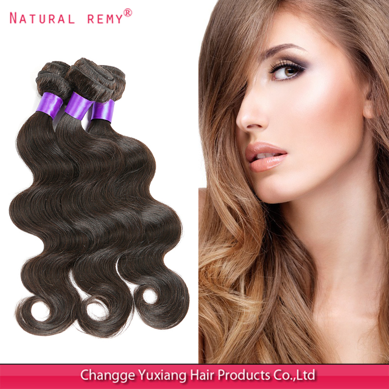 Indian virgin hair, lot, Grade 6A, body wave 100% unprocessed hair weaves natural remy extensions - H&F HAIR FACTORY store