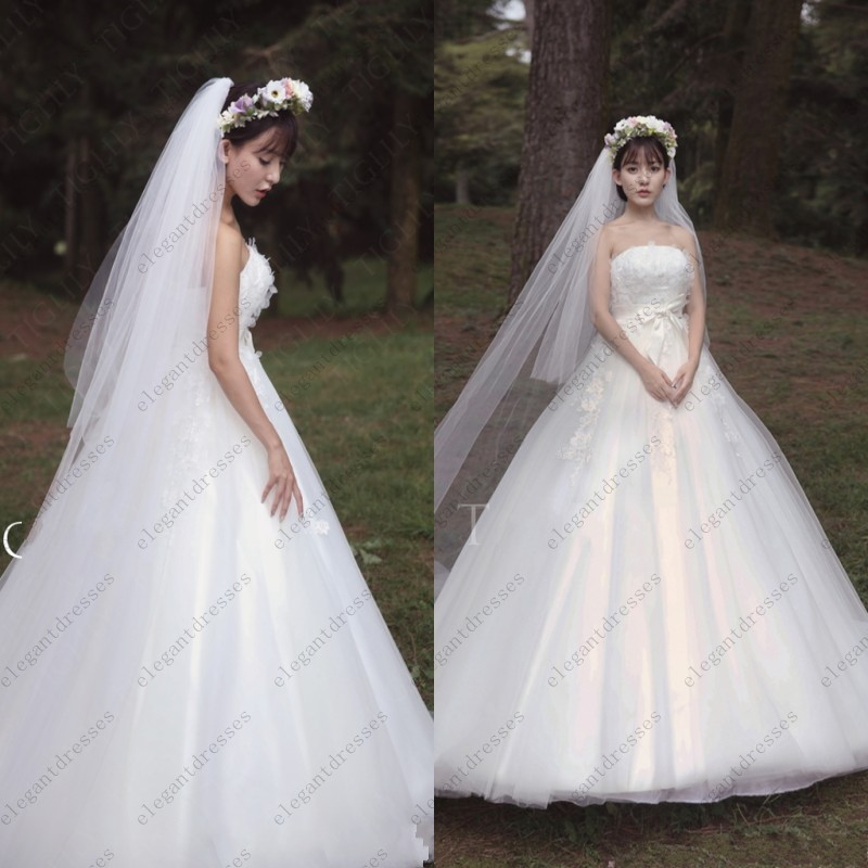 Bridal Gowns Japan : New famous design japan and korean style ball gown