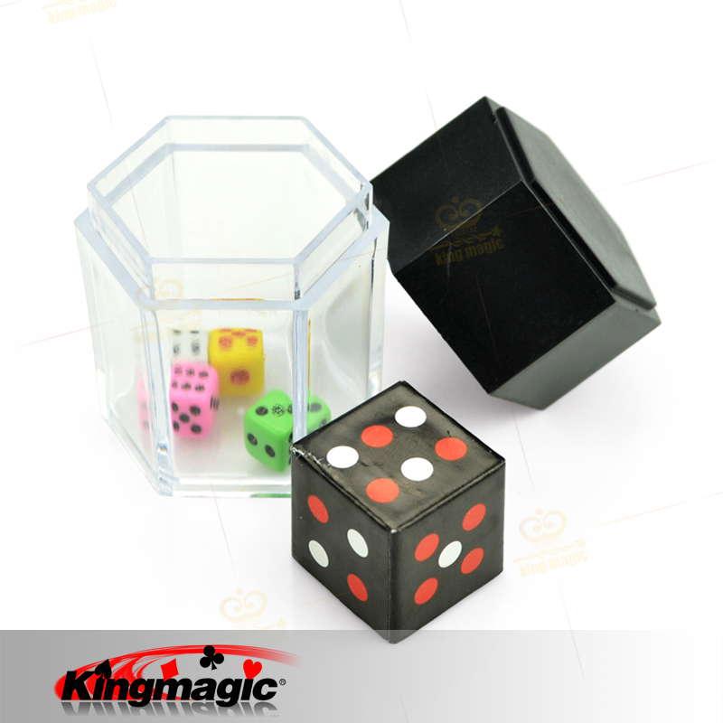 Mini Bomb Dice magic tricks kingmagic Magie Trick Props Magia Show Wholesale(China (Mainland))