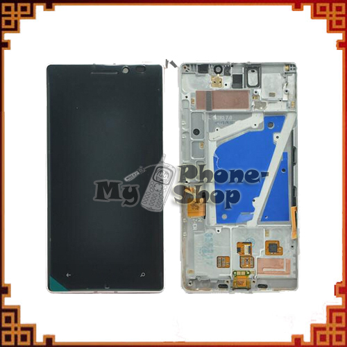 5pcs/lot Alibaba China for Nokia Lumia 930 LCD Display +Touch Screen Assembly with Frame Free Shipping by DHL EMS(China (Mainland))
