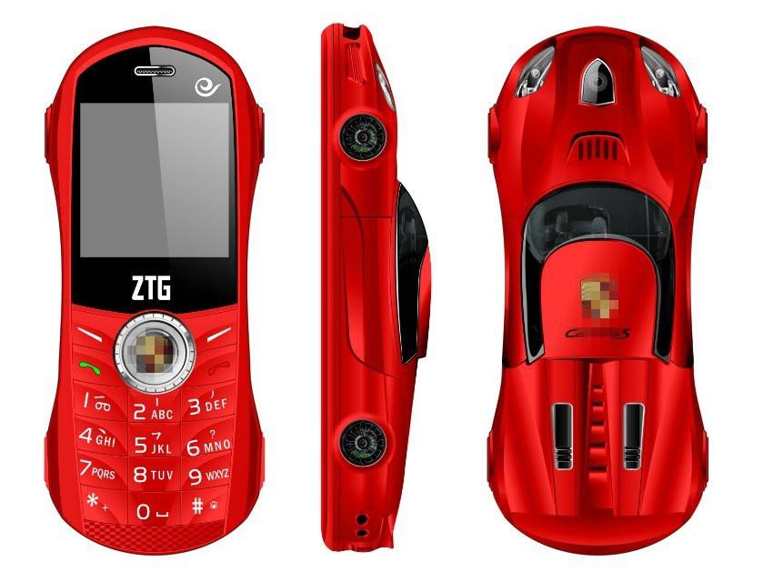 Free shipping ZTG luxury Mini car phone dual SIM card mini cell phone Bluetooth Dialer MP3 1.5 Inch English Keyboard child phone(China (Mainland))