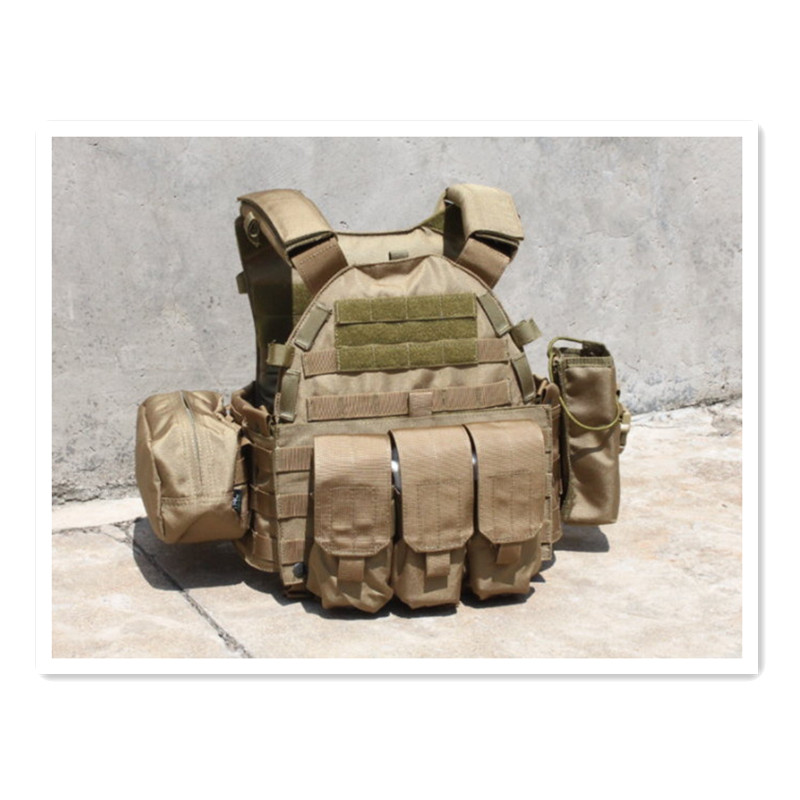 Tactical vest three pouche TMC 1893 6094 tactical CS outdoor Hunting Party Supplies - EMERSON--WARGAME equipment shop store