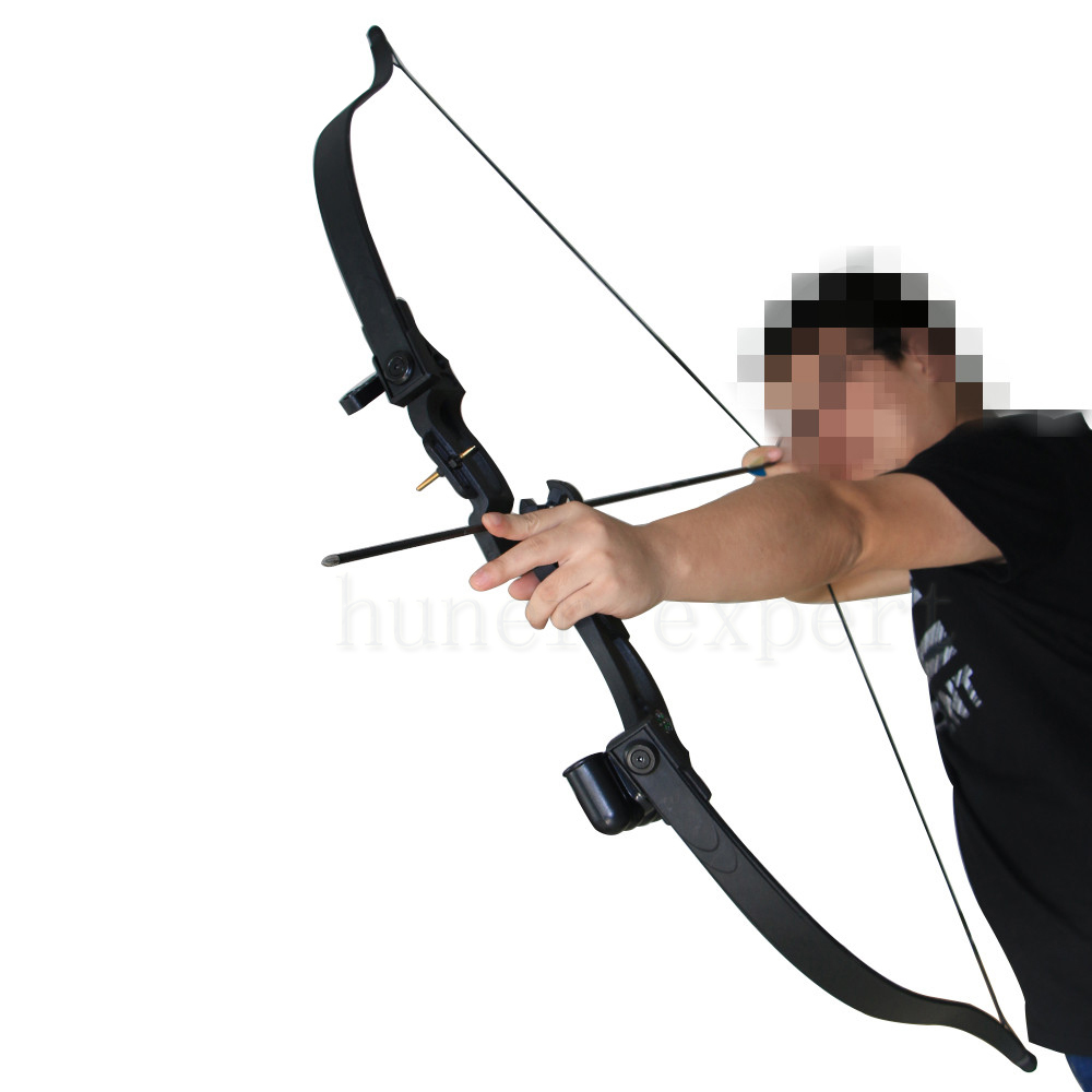 One archery takedown bow 10lbs 20lbs sports game and one CS targeting foam arrow tip LH