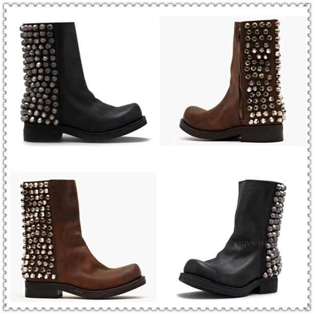 get cheap brown womens cowboy boots aliexpress