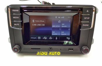 VW Volkswagen Bluetooth Radio New High Version MIB RCD510  For Golf 5 6 Jetta CC Tiguan Passat