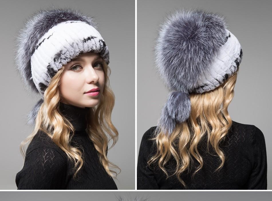 fur hat female winter PCM006 (12)