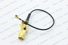 Buy 50 pcslot Right Angle PCB Mount SMA Jack Female Ufl./IPX Connector 1.13 5cm 10cm 15cm 20cm 25cm 30cm Pigtail Extension Cable for $37.99 in AliExpress store