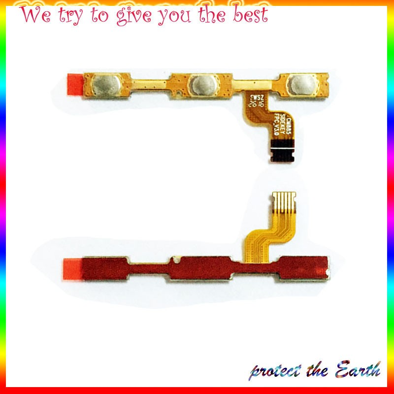 Original New Power On and Off Volume Button Flex Cable For xiaomi redmi note 4 Replacement Parts