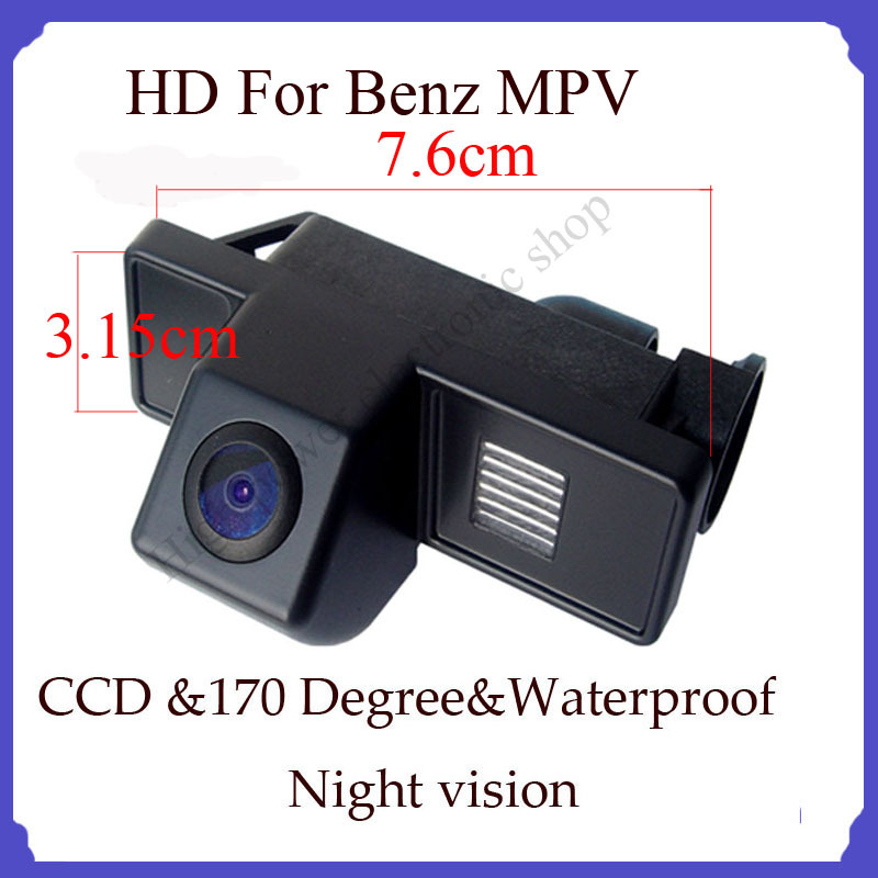Wireless car back up parking camera Wireless backup camera for Benz MPV CCD HD night nision(China (Mainland))