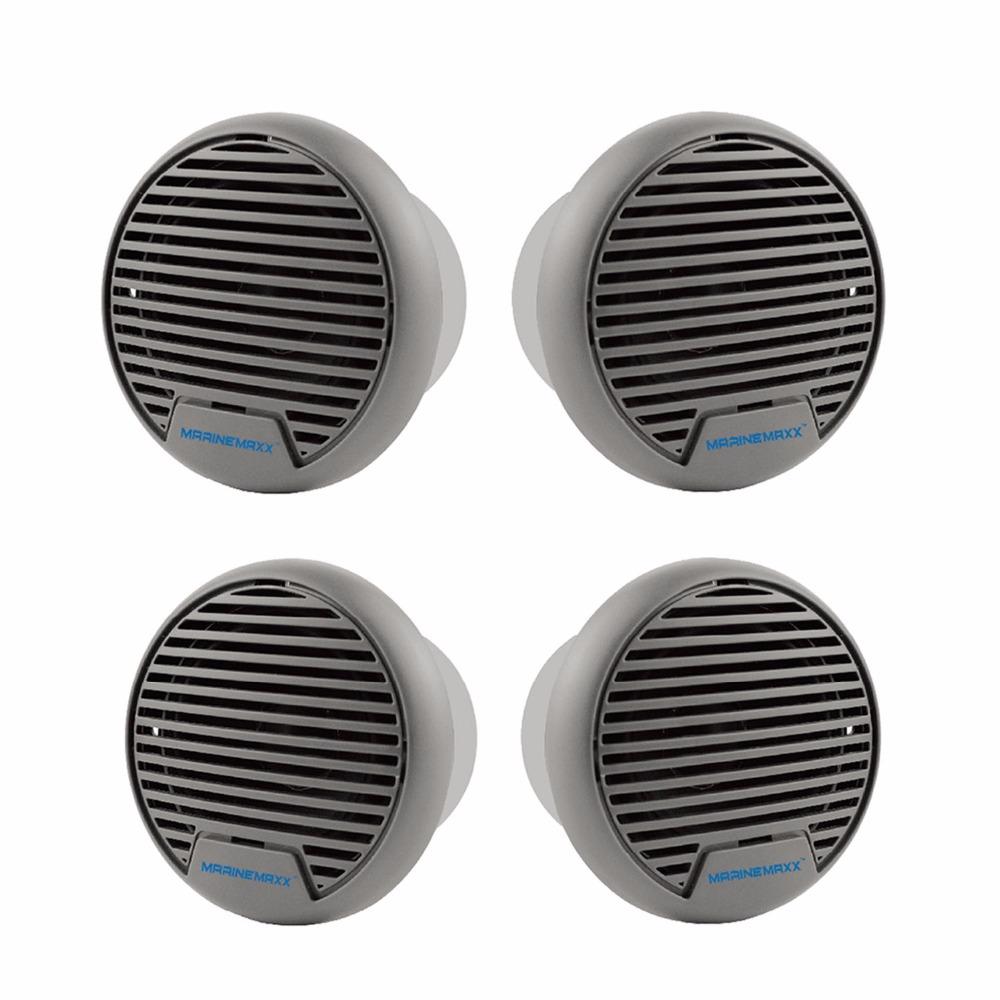 2Pairs 280watts 3'' Waterproof Marine speaker Outdoor Boat Speaker Watertight Motorcycle Speaker for HeavyDuty Tractor UV-Proof(China (Mainland))