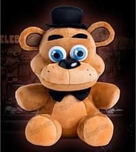 """6PCS/LOT Five Nights At Freddy's 4 FNAF Freddy teddy Fazbear Bear Plush Toys Doll 10""""(China (Mainland))"""