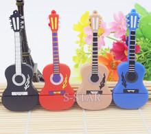 Promotion Fashion new Musical Instrument Guitar Usb Flash Drive Usb Memory Stick 8GB 16GB Flash Memory Stick Pen Drive usb Disk(China (Mainland))