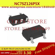 Smart Electronics Integrated Circuit NC7SZ126P5X IC BUFF TRI-ST UHS N-INV SC705 7SZ126 NC7SZ126 2 - Chips Store store