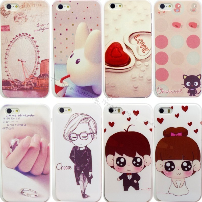 Fashion Styles Phone Shell Apple iPhone 5 5S Cases Color Drawing Emboss Case iPhone5 Back Cover--GKGAHJSJ&&&K - PHONE-CASE HOME store