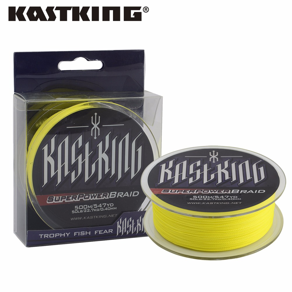 Great discount kastking 500m 10lb 80lb braided fishing for Best braided fishing line saltwater