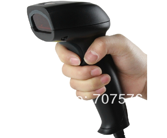 Scanning gun Photoelectric laser barcode supermarket Line Barcode Scanner(China (Mainland))