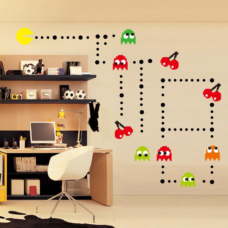 achetez en gros arcade jeu autocollants en ligne des grossistes arcade jeu autocollants. Black Bedroom Furniture Sets. Home Design Ideas