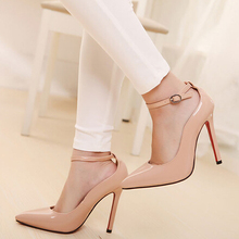 Red bottom sole high heels pumps for women elegant nude pumps thin heels pumps pointed toe women shoes high heels wedding shoes