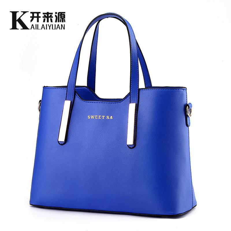 2015 fashion big capacity cross-body women Leather handbags Messenger Bags vintage bolsa mochilas shoulder bag feminina - HAPPYHOUR QUALITY Store store