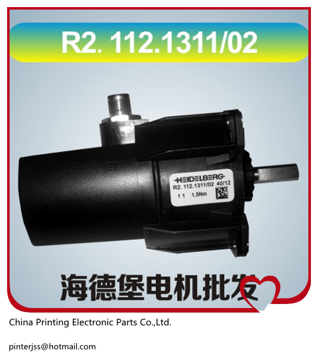 1 piece heidelberg printing machine spare parts motor R2.112.1311/02