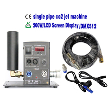 Buy CO2 Jet Machine Stage Effect,Stage Light CO2 Column Jet Machine,Co2 Gun 6m Gas Hose,DMX512 Party Wedding Disco DJ Gun LCD Screen for $205.00 in AliExpress store