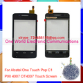 One World Original Quality For Alcatel One Touch Pop C1 PIXI 4007 OT4007 Touch Screen Digitizer