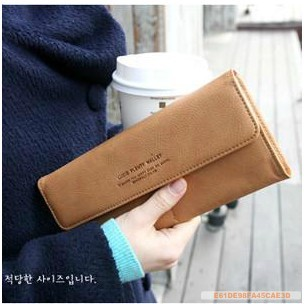 2014 hot sale direct selling faux leather striped 201 fashion purses card holder girls multifunctional women long design wallet