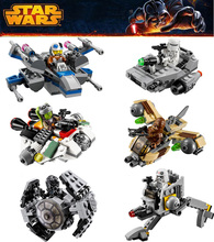 Star Wars 78085 LEPIN Spaceship Fighter Clone Starwars troopers Ships Building Blocks Compatible lepin Microfighters - Beautiful Female's World store
