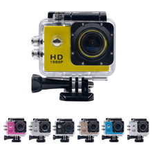 Waterproof Outdoor Edition Video Camera Sports Action Cam 1080P Full HD with 2.0 Inch LCD Display DVR52-26W(China (Mainland))