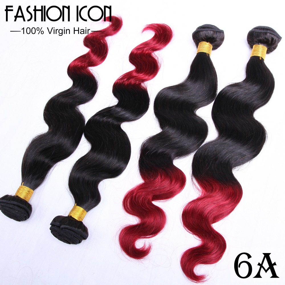 product Best 6A Ombre Two Tone Human Hair 4 Bundles Of Peruvian Body Wave Free Shipping Peruvian Wet And Wavy Qingdao Hot Hair Products