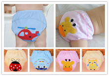 30pcs/lot  Baby Training Pants/Child Cloth Study Pants/Reusable Nappy Cover/Washable Diapers Underwear etrx0004(China (Mainland))