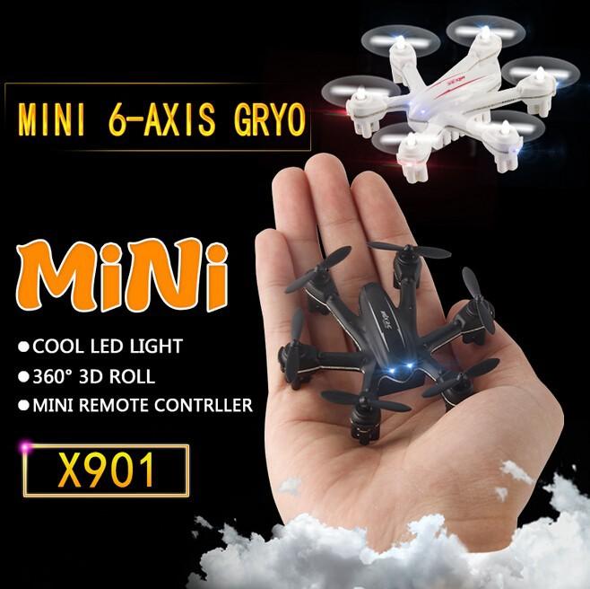 Original MJX X901 Mini quadcopter 3D Roll 2.4G 6-Axis First Nano Hexacopter Free shipping