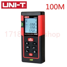 Free shipping100m 328ft Digital Laser distance meter Bubble level Rangefinder Range finder Tape measure Area/Volume M/Ft/Tool
