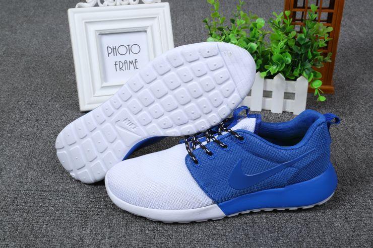 Nike Roshe Run Hombre Azules