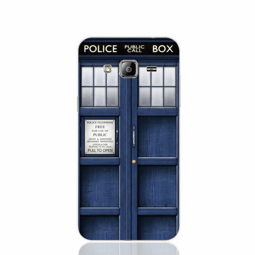 16945 Tardis Dr Doctor Who Police Call Box cell phone case cover for Samsung Galaxy J1 ACE J5 2016 J7 N9150(China (Mainland))