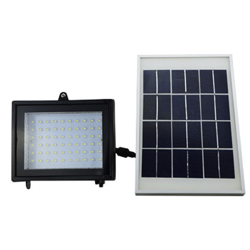 Foco Solar Led Exterior 60 LED Solar Lights Outdoor Security Floodlight Auto-induction Solar Flood Light for Lawn, Garden, Pool<br><br>Aliexpress