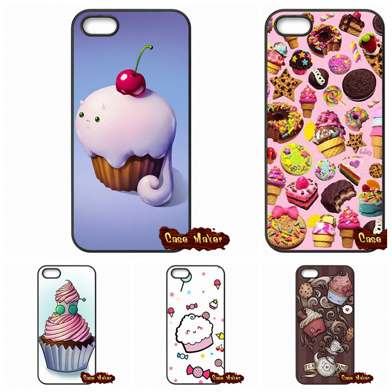 Chocolate Nutella Cupcakes Phone Case Cover For iPhone SE Xiaomi Mi3 Mi4 Mi5 Redmi Note 2 3 Samsung Galaxy Alpha Ace 2 3 4(China (Mainland))