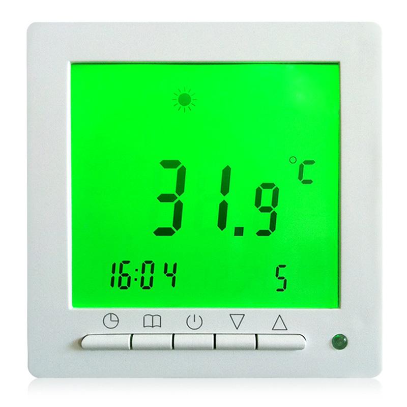 Гаджет  HOT FLOUREON Green Backlight LCD Digital Temperature Controller Weekly Programmable Floor Heating Room Thermostat Free Shipping None Строительство и Недвижимость