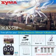 ต้นฉบับSYMA X5S X5SC X5SWWIFI Q Uadcopterจมูกด้วยกล้องFPVกล้องหัวขาดแกนแบบReal Time RC Helicopter Q Uadcopter KidsToy