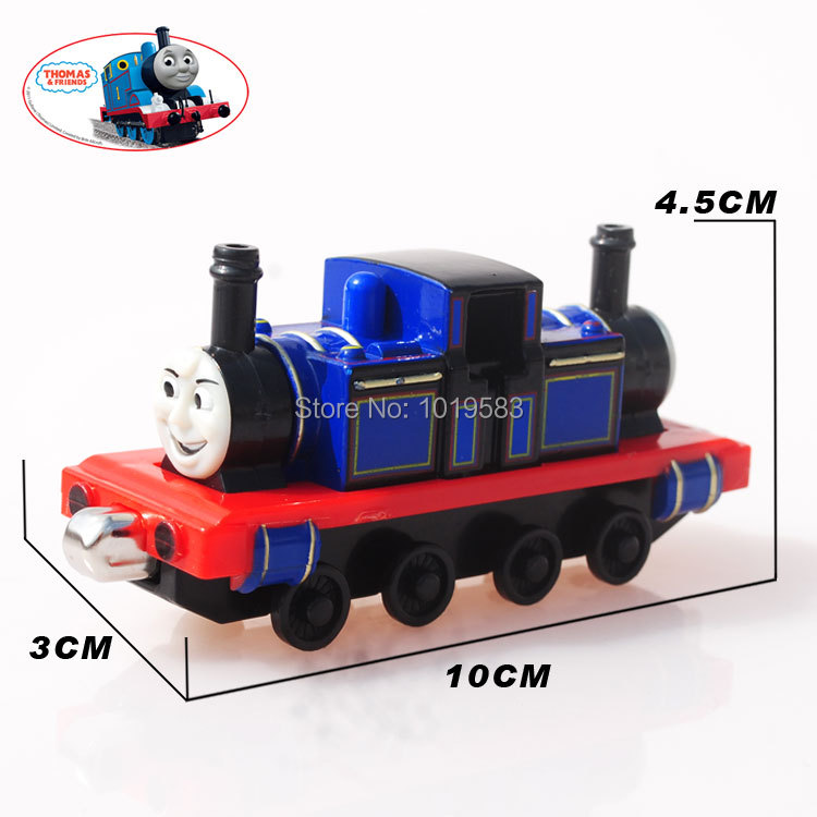 Free Shipping Brand New Thomas The Train Diecast Toys Take Mcgrady&Mike Magnetic Metal Train Toy For Children/Gift/Kids(China (Mainland))