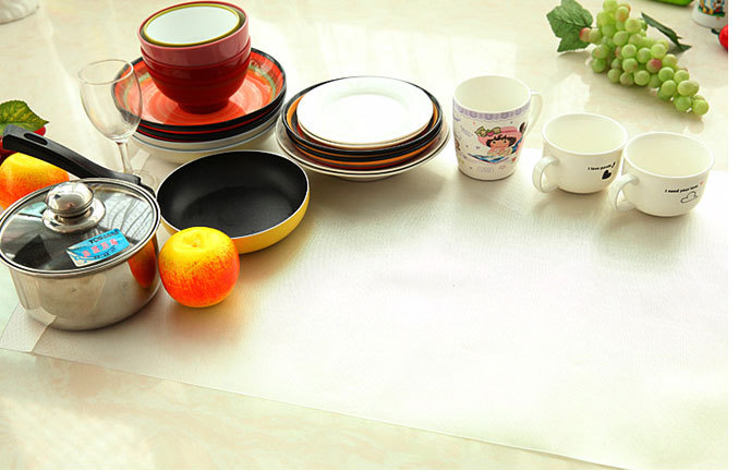 Cup Mat PVC Round Coaster Zakka Tea Placement accessories for table Kitchen Ikea Novelty households(China (Mainland))