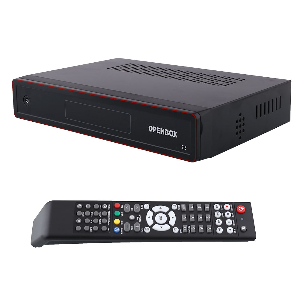 New Openbox Z5 PVR FTA HD TV Satellite Receiver Box USB Google Map EU-Plug +hdmi cable +remote control Black(China (Mainland))
