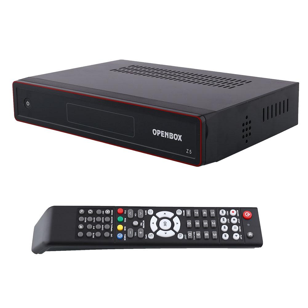 New Openbox Z5 PVR FTA HD TV Satellite Receiver Box USB Google Map EU-Plug +hdmi cable +remote control Black(China (Mainland))